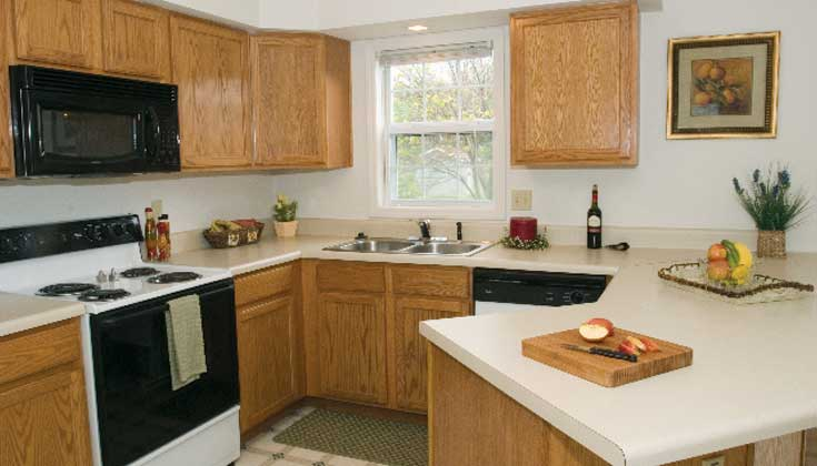 Cedarfield Apartment Kitchen