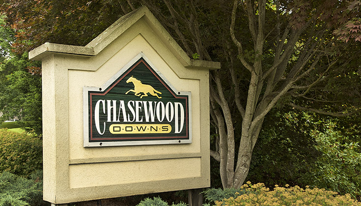 Chasewood Downs Apartments Property Sign