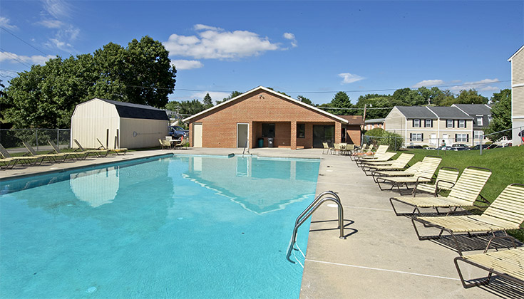 Copper Beech Swimming Pool