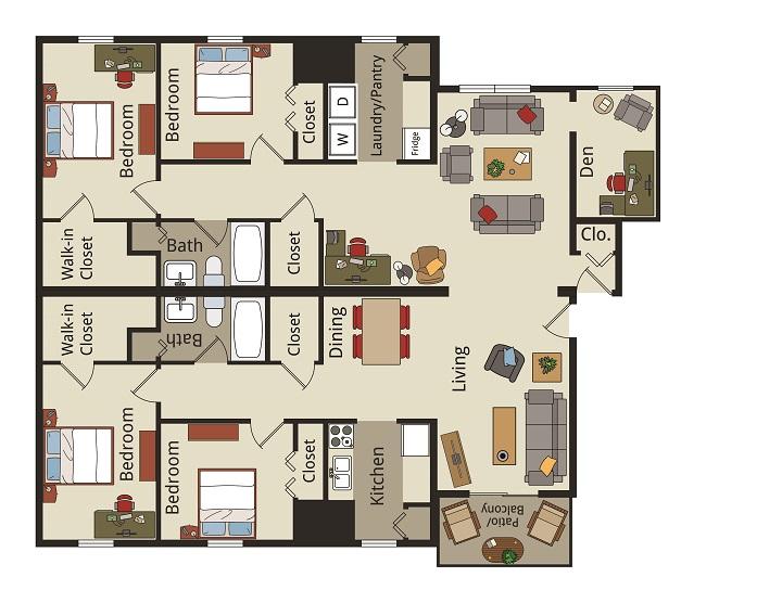 Harding Avenue Apartments Blacksburg Va